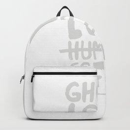 ghouls love coffee Backpack