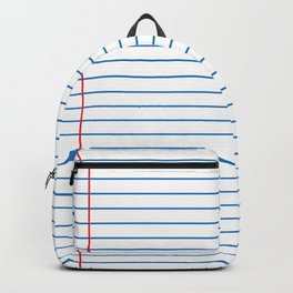 Lined Paper Backpack