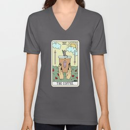 COFFEE READING Unisex V-Neck