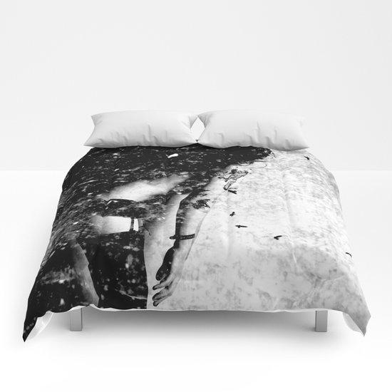 Nude art - time Comforters