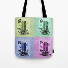Cactus Popart Tote Bag