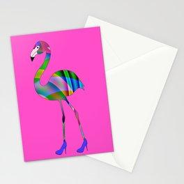 Chic Flamingo Stationery Cards