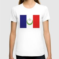 morocco T-shirts featuring French Morocco flag by tony tudor