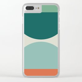 Abstract Geometric 20 Clear iPhone Case