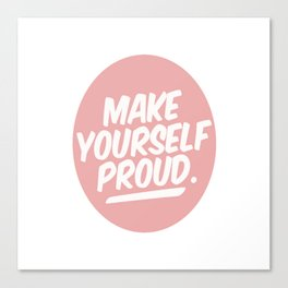 make youreself Canvas Print