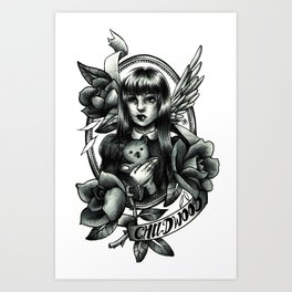 Childwood Art Print