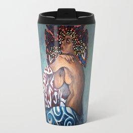 Afro-Celt (mixed media) Travel Mug
