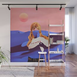 Lunar Power Wall Mural