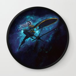 Fury of the Tempest Wall Clock