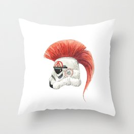Storm the Trooper Throw Pillow