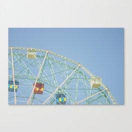 Wonder Wheel II Canvas Print
