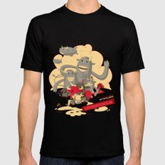 Cowmunism SMALL Black Mens Fitted Tee
