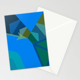 ln Abstraction Stationery Cards
