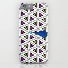Peacock in pattern iPhone 6s Slim Case