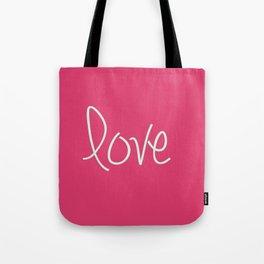 Love In Pink  Tote Bag