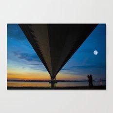 The Lone Photographer Canvas Print
