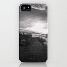 Streamers in the sky iPhone Case