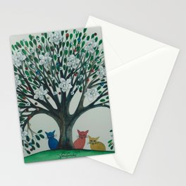 Trinity Whimsical Cats Stationery Cards