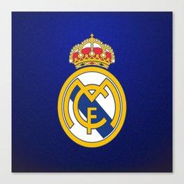 Real Madrid CF : Best Futbol Club Canvas Print