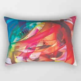 Clusters on mind #1 Rectangular Pillow
