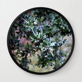 Scrub Oak Wall Clock
