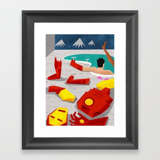 Iron-Mod Framed Art Print