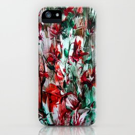 RedLilies iPhone Case