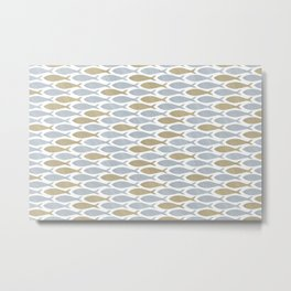 shoal of herring Metal Print