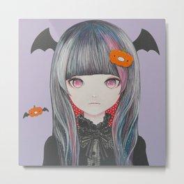 Pumpkin Nightmare Metal Print
