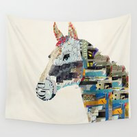 mod Wall Tapestries featuring the mod horse by bri.b