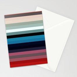 Les lignes de couleurs 03 Stationery Cards