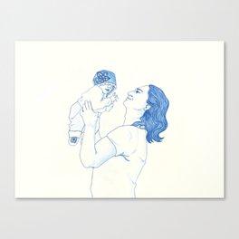 Portrait of a Father Canvas Print