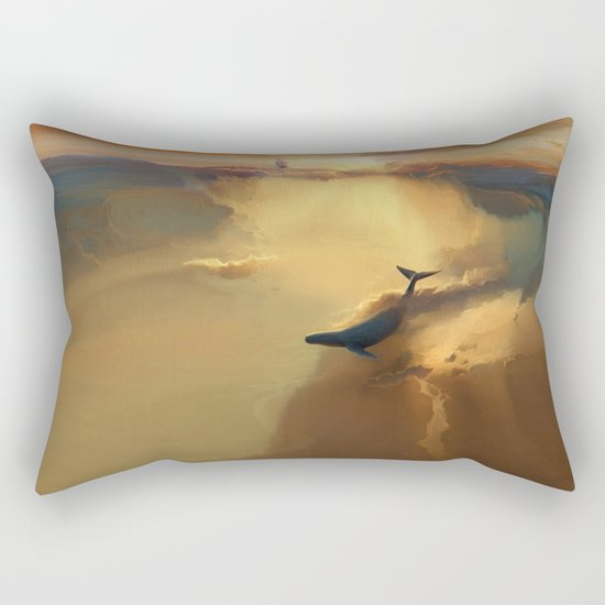 In the sea of gold Rectangular Pillow