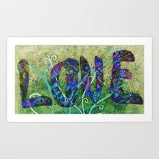 A Fractal of Love Art Print
