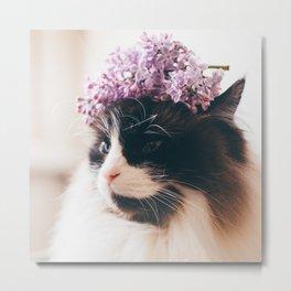 Lilac Love Metal Print