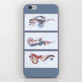 Superhero Pinup Trio (Stark Spangled Winter) iPhone Skin