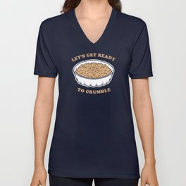 Let's Get Ready To Crumble Unisex V-Neck