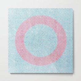Lying in a zero circle Metal Print
