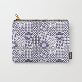 Spanish Tiles of the Alhambra - Violets Carry-All Pouch