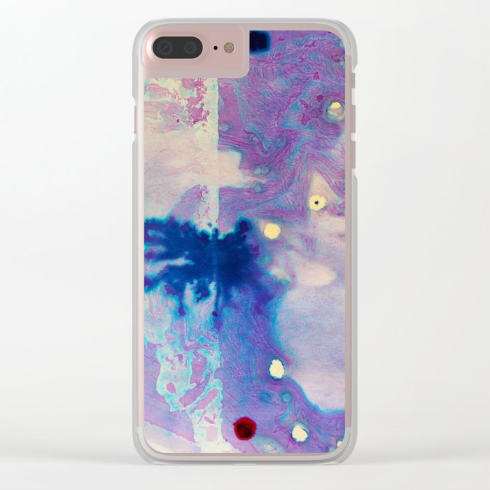 Psychedelic Vibes Clear iPhone Case