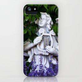 Garden Angel iPhone Case