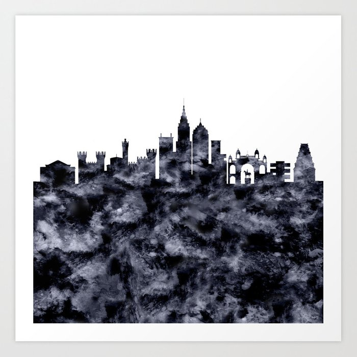 Bangalore Skyline India Art Print By Atw