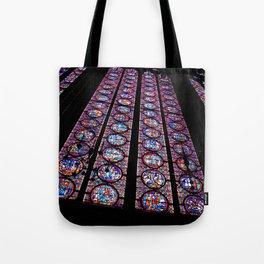 le verre coloré Tote Bag