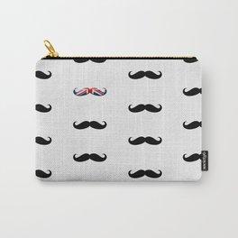 Union Jack Mustache Carry-All Pouch