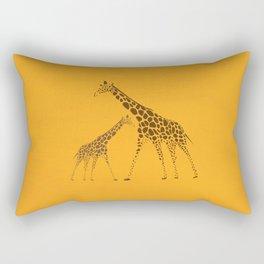 Wild Animal Giraffe Picture Rectangular Pillow