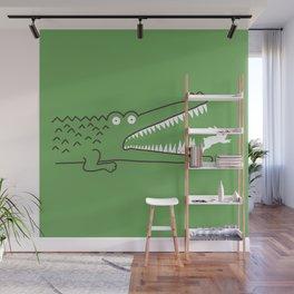 Mr. Croc's Nightmare Wall Mural
