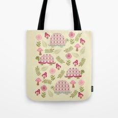 Cheerful Turtles Tote Bag