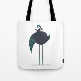 Melancholic Bird Tote Bag
