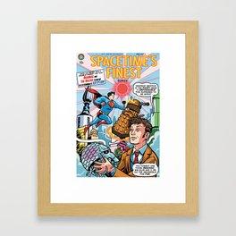 Spacetime's Finest No. 3 Framed Art Print