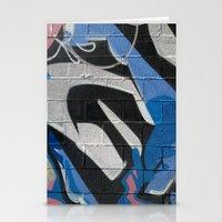 graffiti Stationery Cards featuring Graffiti by Electric Avenue